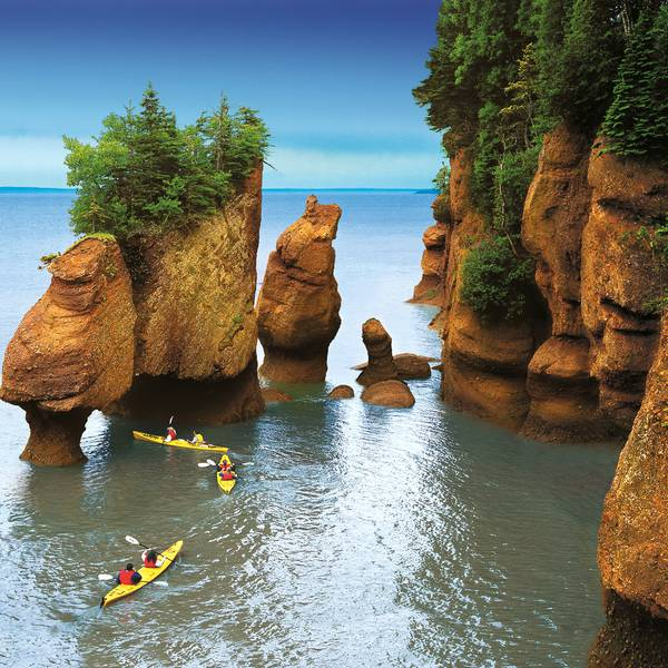 Hopewell Rock - Bay of Fundy National Park - New Brunswick - Canada - Doets Reizen