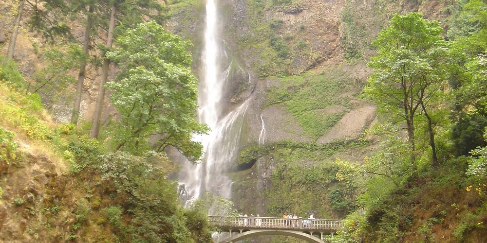Multnomah Falls - Oregon - Doets Reizen
