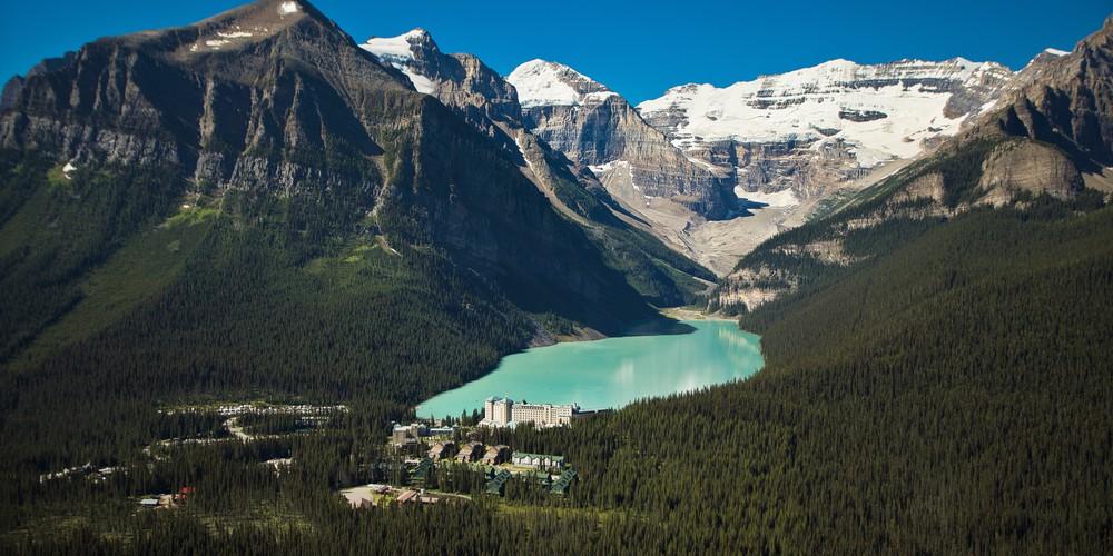 Lake Louise - Banff National Park - Alberta - Canada - Doets Reizen