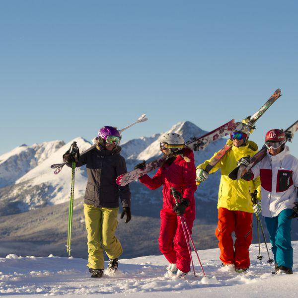 Wintersport Vail Colorado USA