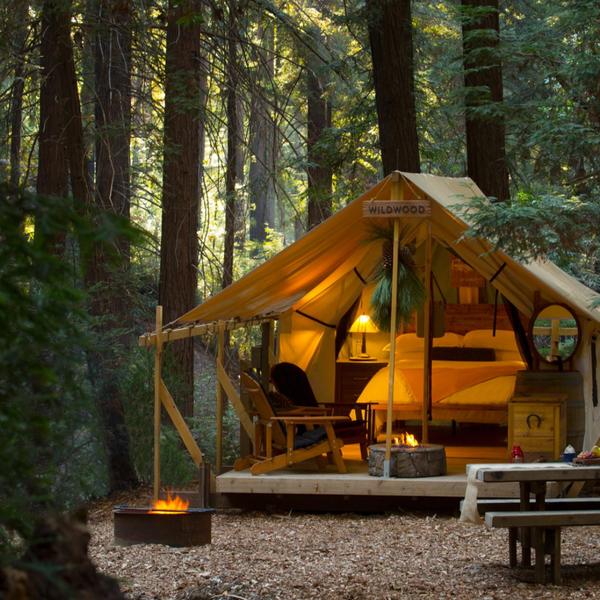 Ventana Inn - Glamping - tent