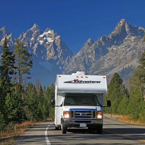 Onderweg in West Canada met de camper van Fraserway RV