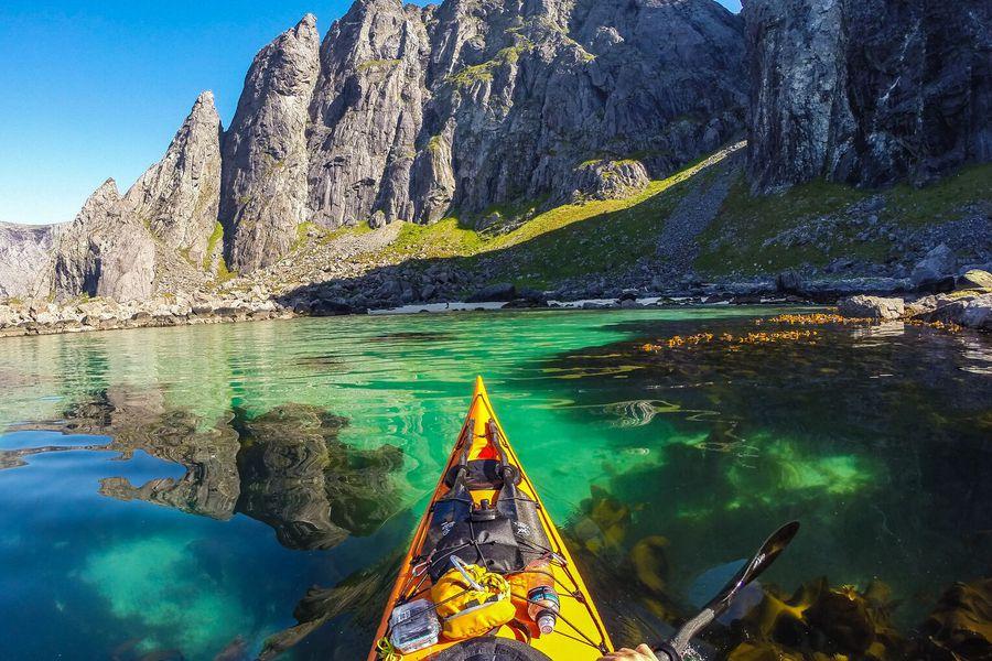 Lofoten Kayak - Doets Reizen - Vakantie Noorwegen- VisitNorway.com