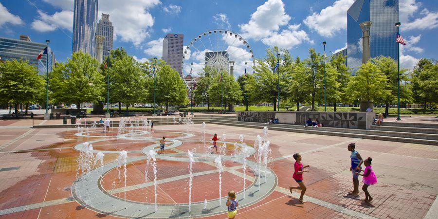 Cennential Olympic Park - Atlanta - Georgia - Amerika -Doets Reizen