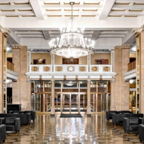 Boston Park Plaza - lobby