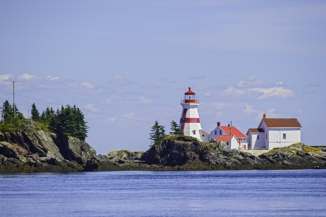 Quoddy Head Lighthouse - New Brunswick - Canada - Doets Reizen
