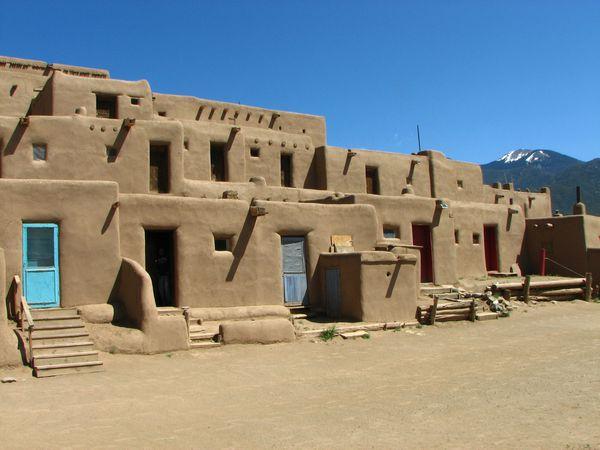 Taos Pueblo - New Mexico - Amerika - Doets Reizen