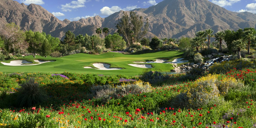 Golfen in Palm Springs, California