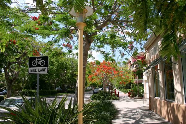 De gezellig 5th avenue in Naples Florida
