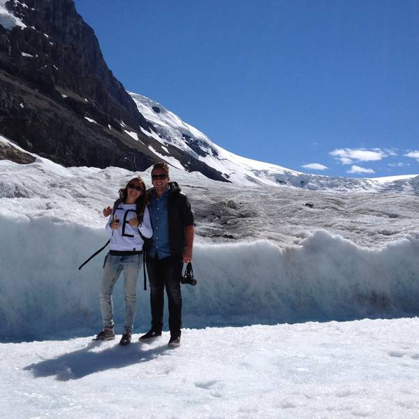 Icefields Parkway Athabasca Glacier
