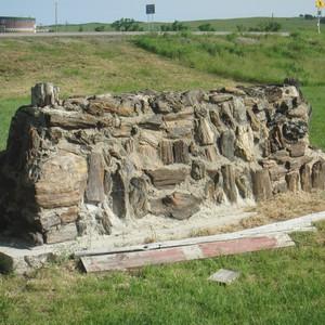 Maandag 22-6 Badlands-Cheyenne - Dag 23 - Foto