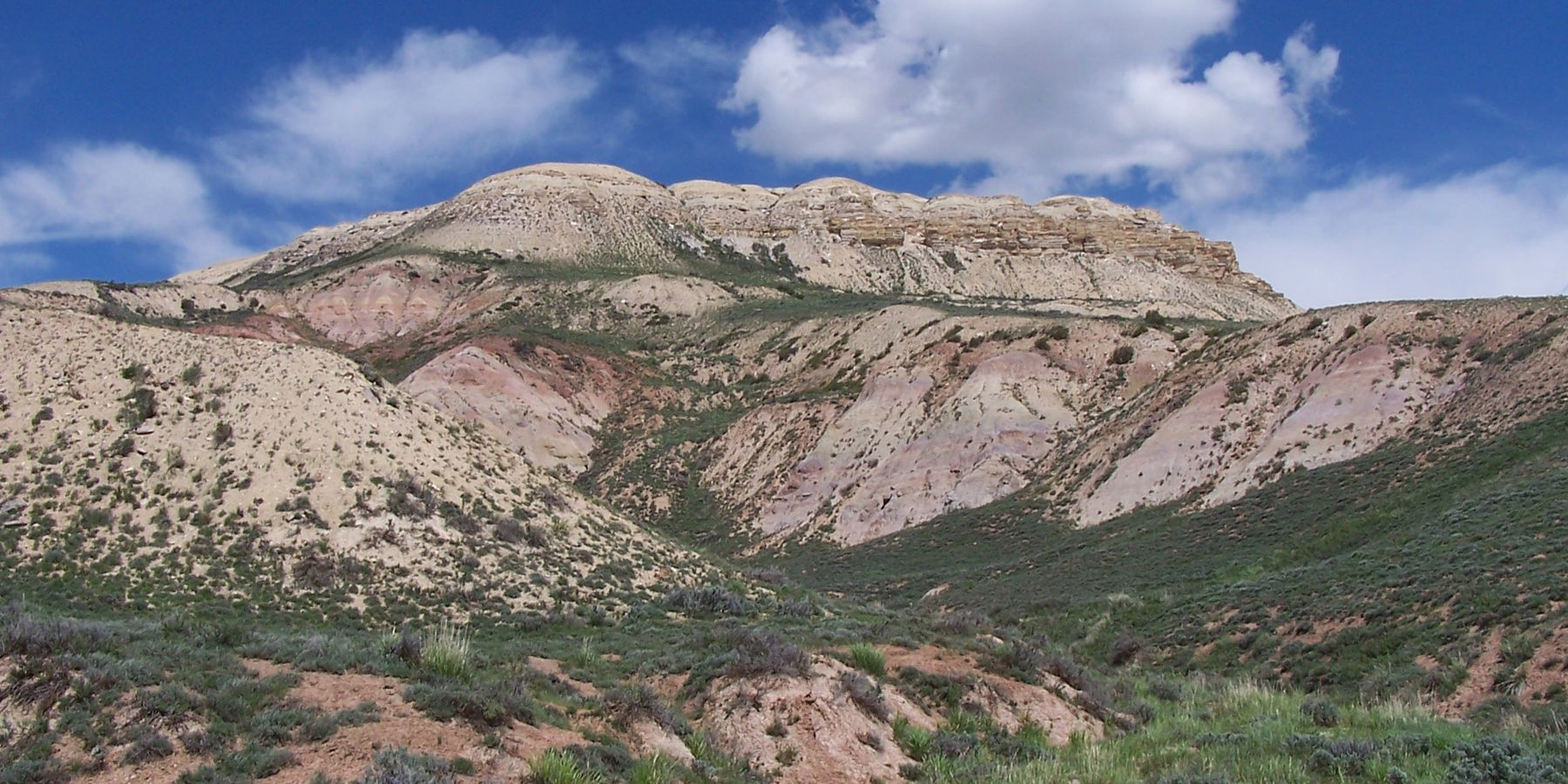 Fossil Butte National Monument - Wyoming - Doets Reizen