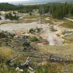 Naar Yellowstone - Dag 5 - Foto
