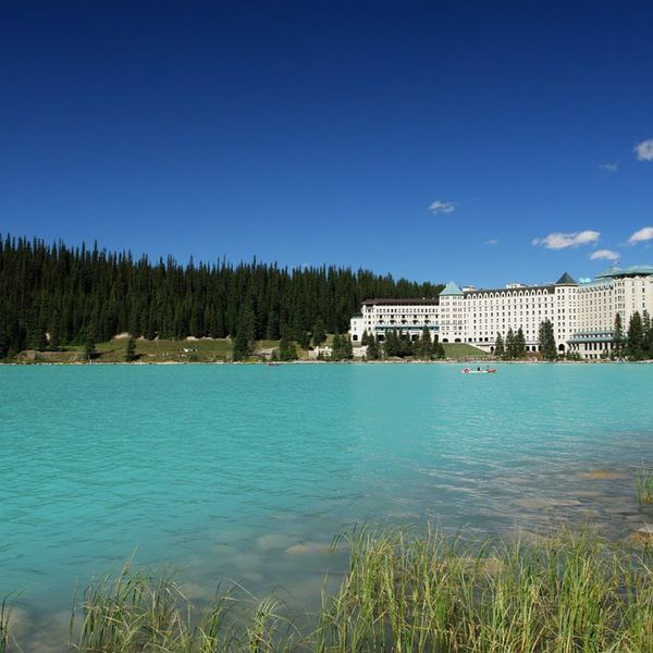 Fairmont Chateau Lake Louise - buitenkant