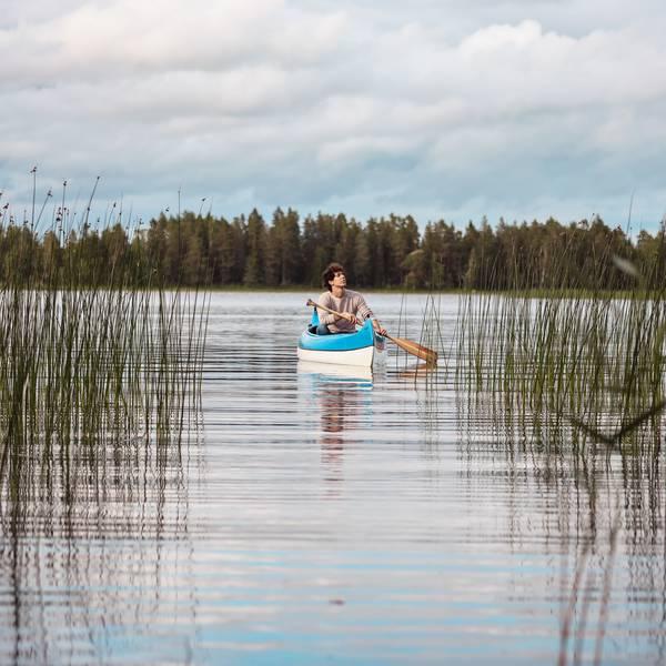 Kabin Sweden - Kayakken
