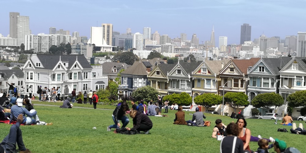 Alamo Square Park - San Francisco