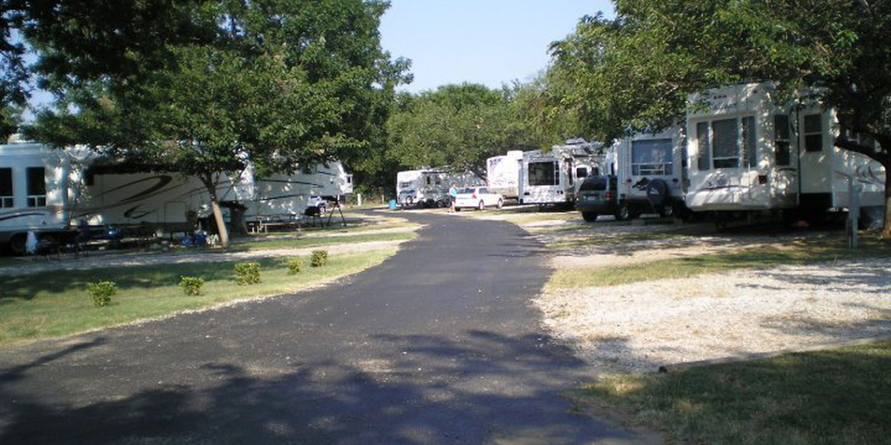 Dallas/Arlington KOA campingplaats