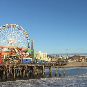 shoppen en Santa Monica boulevard - Dag 23 - Foto
