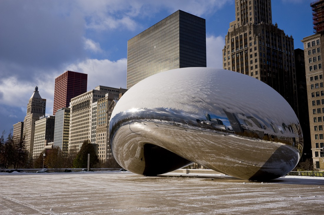 Chicago in de winter