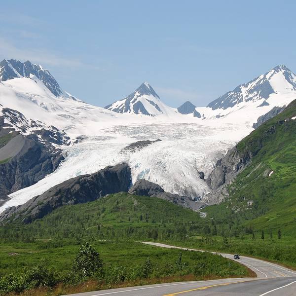 Worthington Glacier- Alaska - Doets Reizen