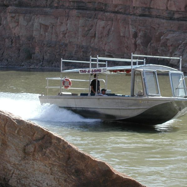 Jetboat tour over de Colorado River vanuit Moab in Utah