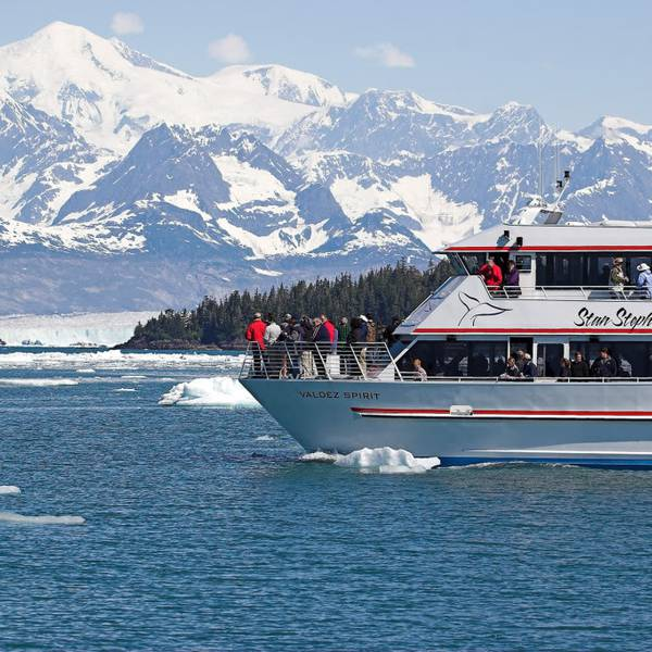 Columbia Glacier - Prince William Sound - Alaska - Doets Reizen