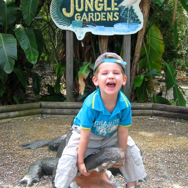 Jungle Gardens - Sarasota - Florida - Doets Reizen