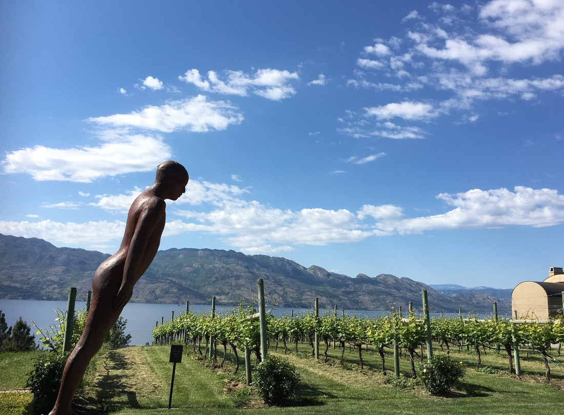 Okanagan Lake - Kelowna - Okanagan Valley - British Columbia - Canada - Doets Reizen