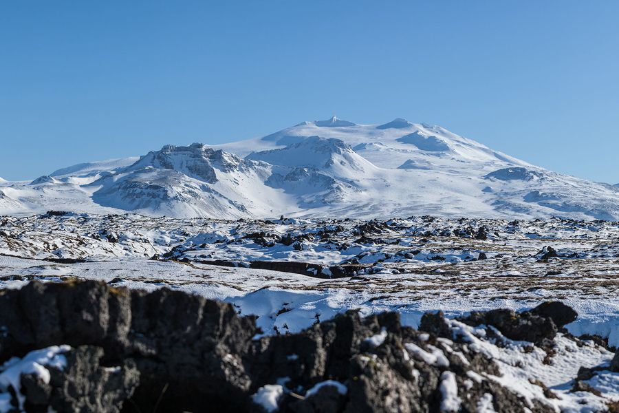 Snæfellsjökull - IJsland - Doets Reizen
