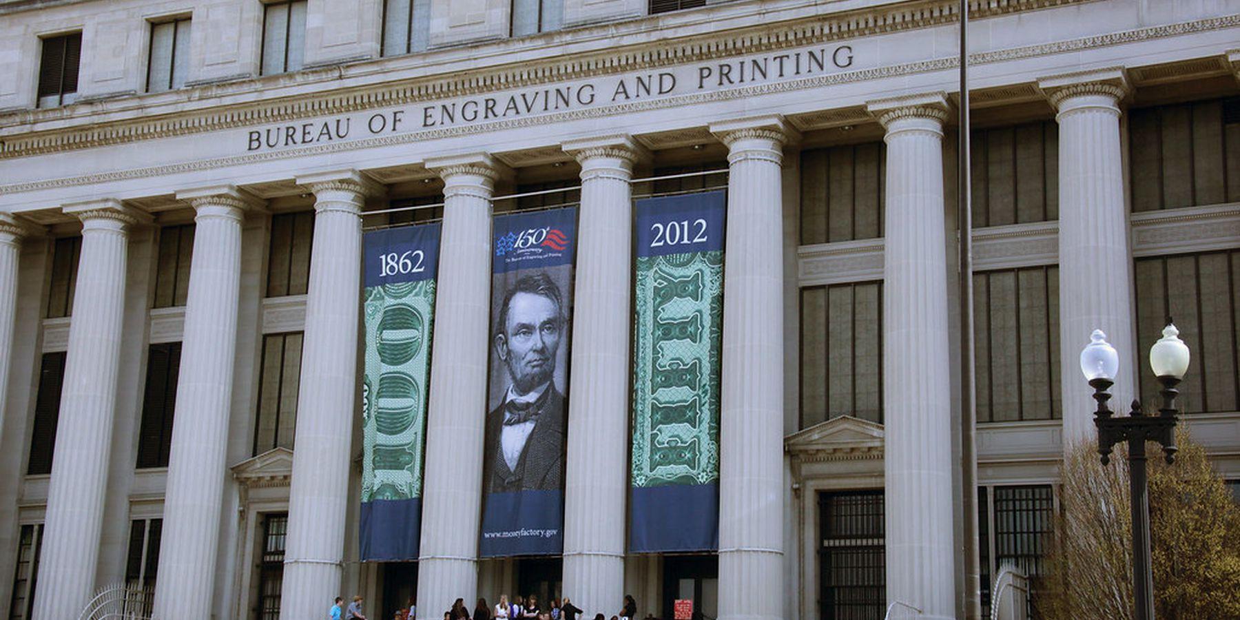 Bureau of Engraving and Printing - Washington D.C. - Doets Reizen