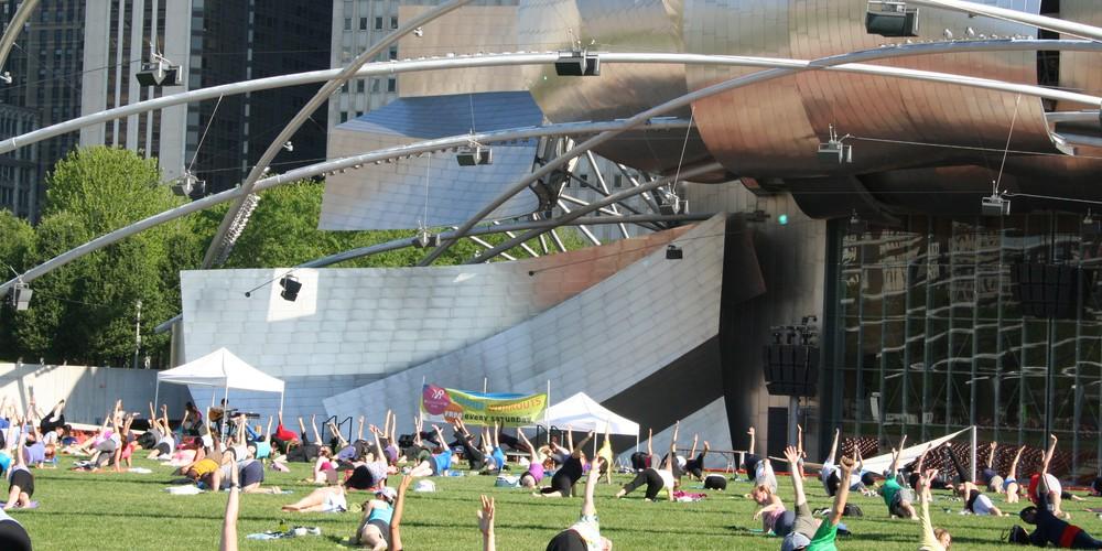 Jay Pritzker Pavilion - Chicago - Illinois - Doets Reizen