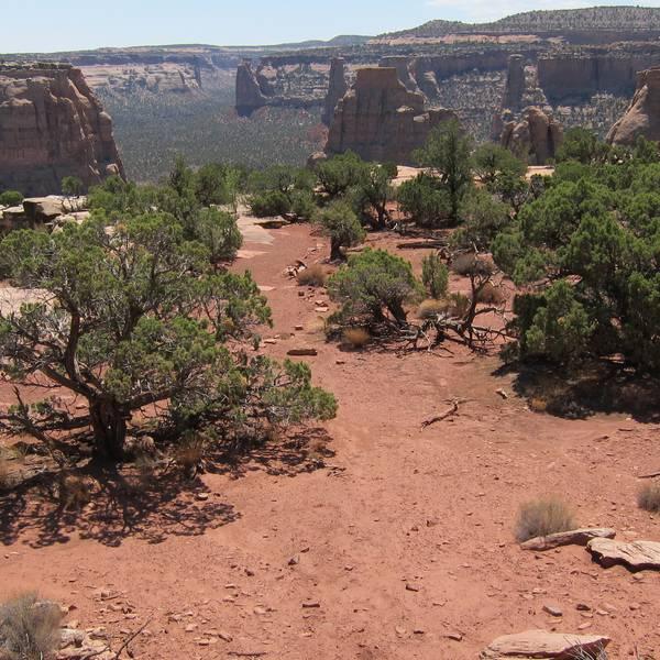 Bookcliffs - Colorado - Doets Reizen