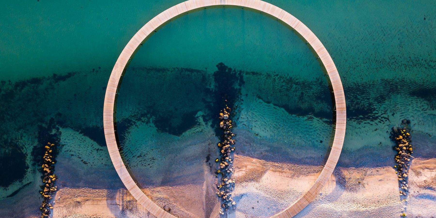 The Infinite Bridge (Den Uendelige Bro),  Aarhus - Doets Reizen - © Dennis Borup Jakobsen