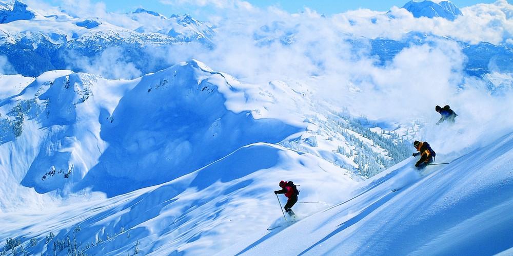 Wintersport Whistler