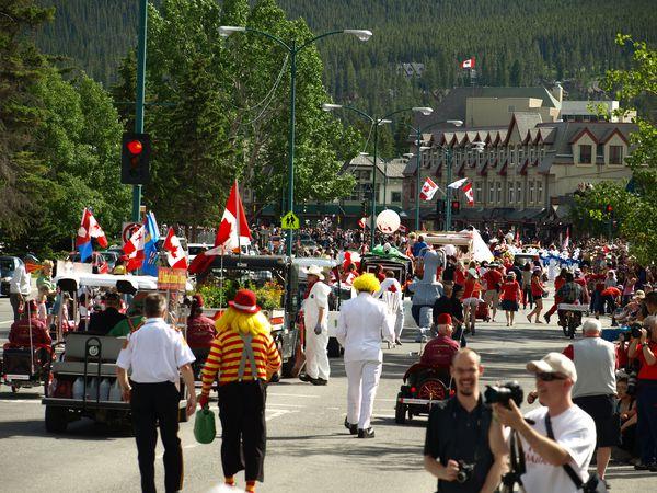Banff Village - Alberta - Canada - Doets Reizen