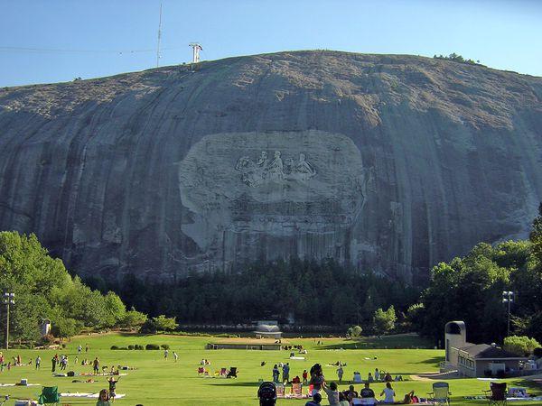 Stone Mountain Park - Georgia - Amerika - Doets Reizen
