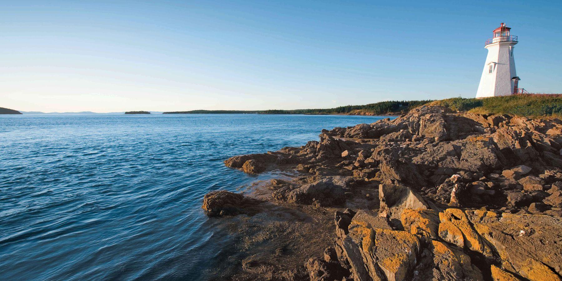 Lighthouse - Bay of Fundy National Park - New Brunswick - Canada - Doets Reizen