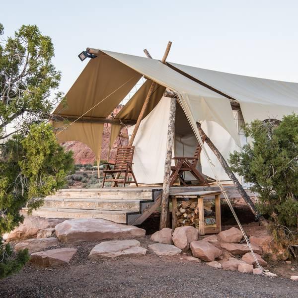 Glamping Moab - Utah - Doets Reizen