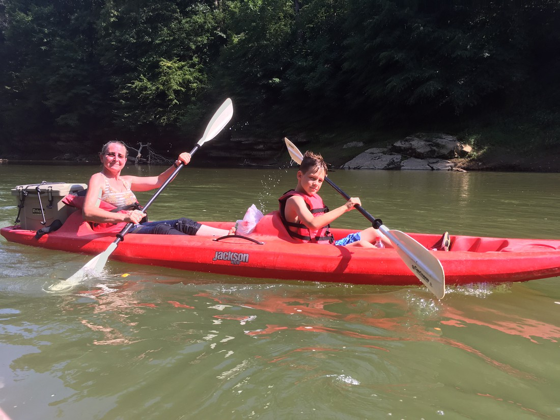 Kajakken Green River - Kentucky