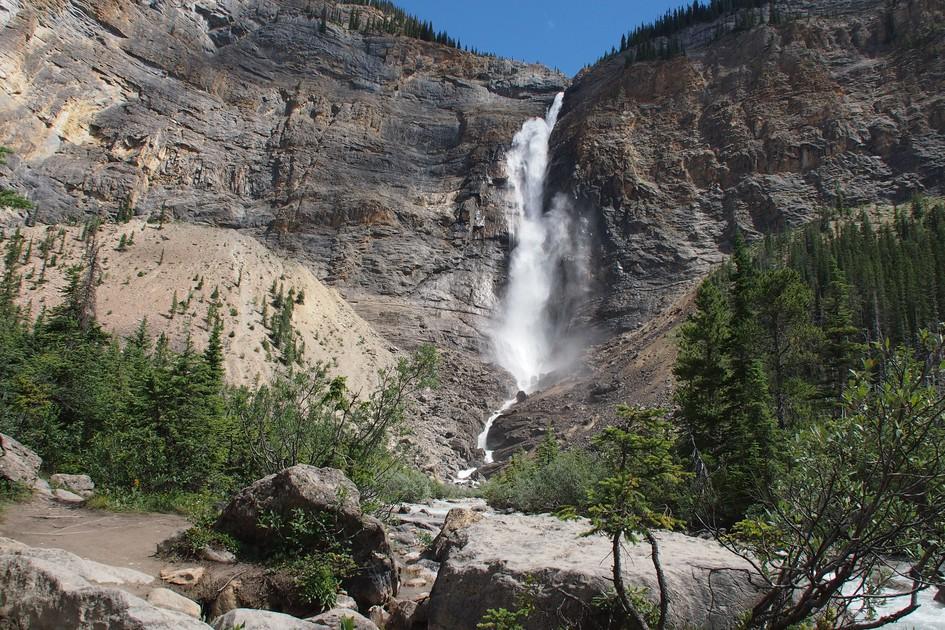 Takakkaw Falls - Alberta - Canada - Doets Reizen