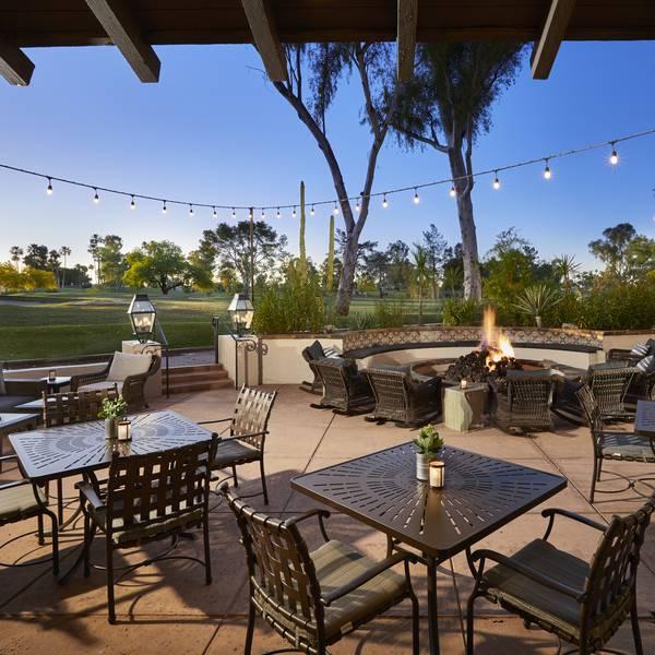 The Scottsdale Resort - patio