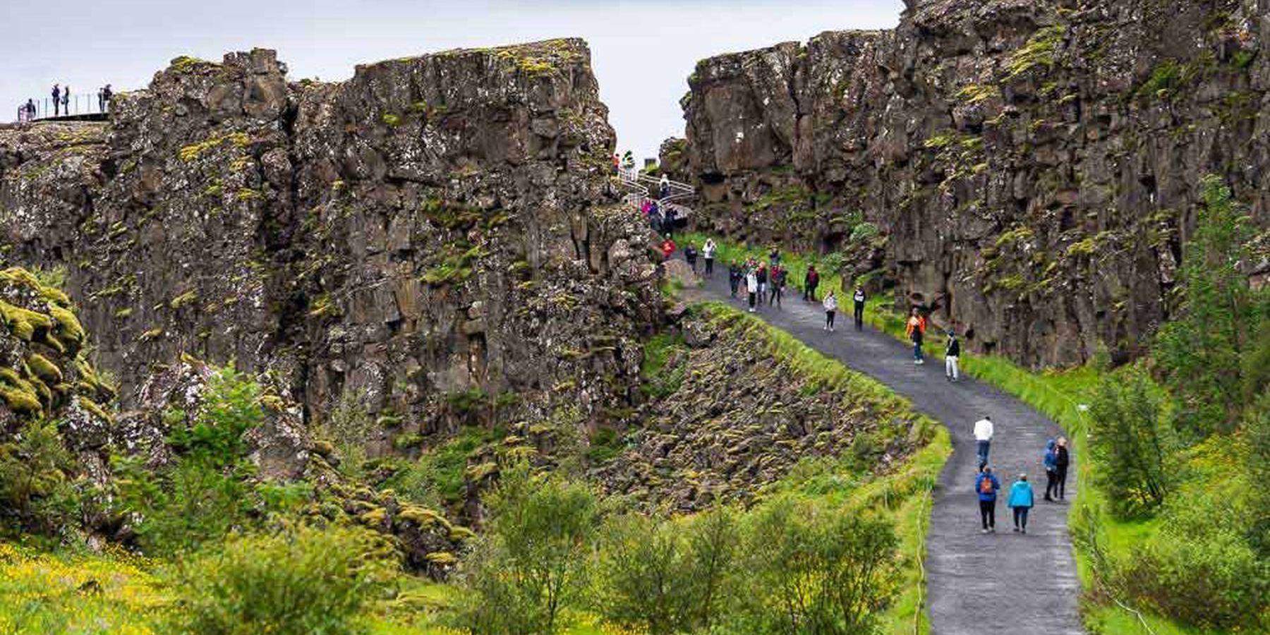 Thingvellir National Park - IJsland - Doets Reizen