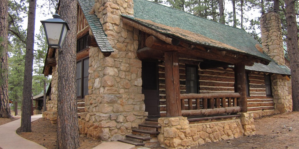 Bryce Canyon Lodge Cabin Utah.