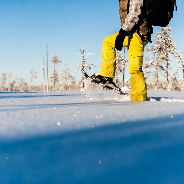 Sneeuwschoenen Arctic Bath -  Doets Reizen - Vakantie Zweden - Credit Arctic Bath Hotel