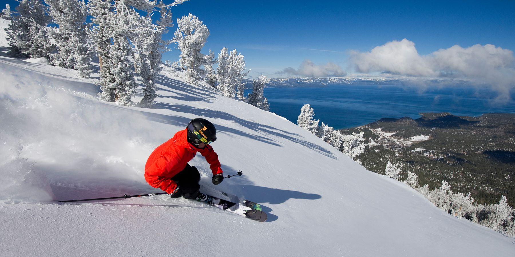 Wintersport Heavenly Lake Tahoe California USA