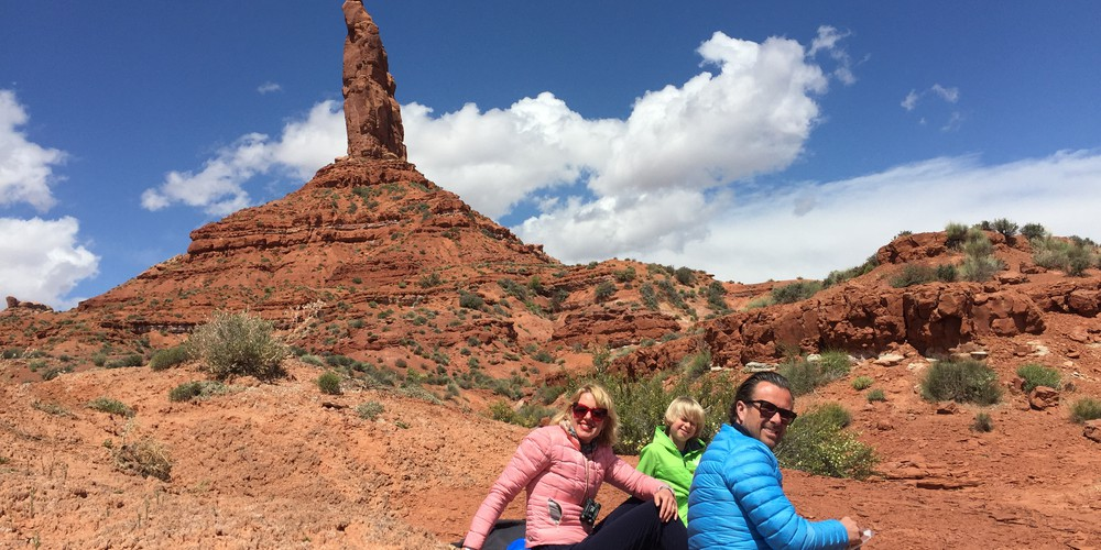 Picknick Valley of the Gods Monument Valley Utah