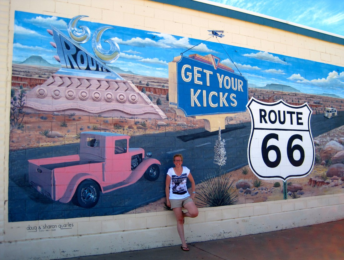 Tucumcari - Route 66 - New Mexico - Doets Reizen