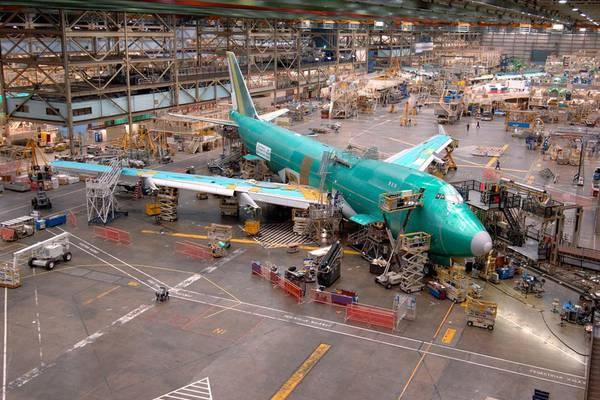 Boeing Fabriek - Everett - Washington State - Doets Reizen