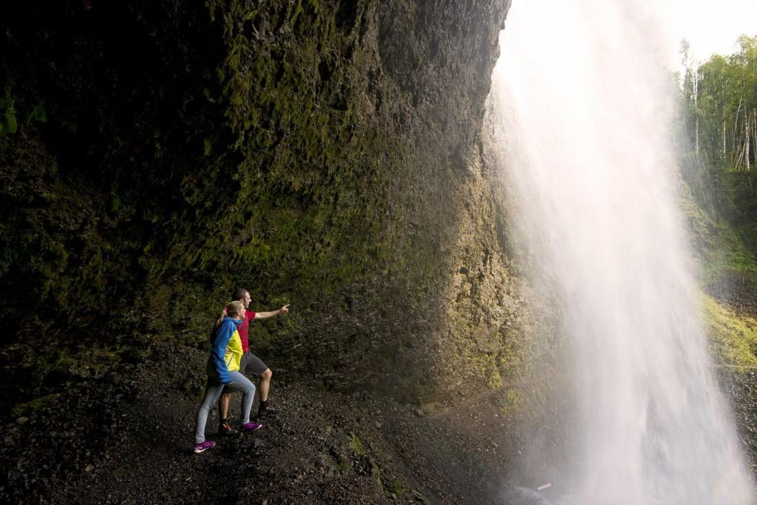 Moul Falls - Wells Gray Provincial Park - British Columbia - Canada - Doets Reizen