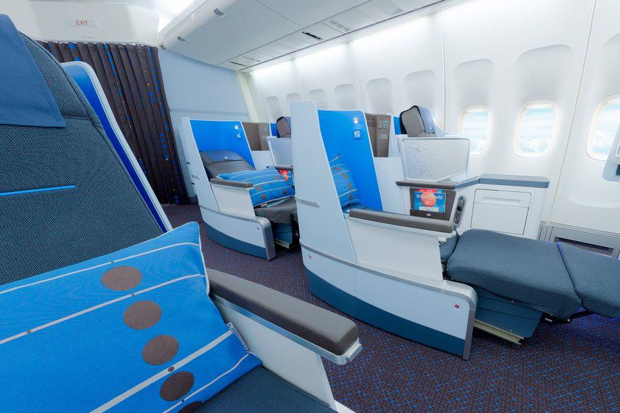 KLM Business Class - Doets Reizen